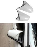 2x Weiß Spiegelkappen Spiegel ABSfür BMW F20 F21 F22 F30 F31 F34 F32 F33 X1 E84