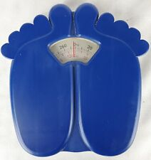 Big Blue Feet 300lbs Capacity Bathroom Scale