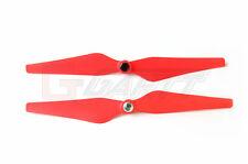 4 Pairs Red 9450 9x5 Self-locking Enhanced Propeller Prop DJI Phantom 2 Vision