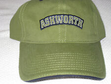 143143cc8e2 ASHWORTH GOLF CAP KHAKI GREEN COLOUR.