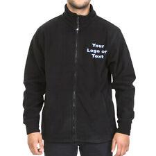 Custom/Personalised Embroidered Black Trespass antipill Fleece Jacket/Work Wear