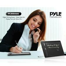 Pyle Digital Writing Board, Tablet-Style Art Display Pad with Stylus Pen PLWB905
