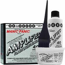 Manic Panic Flash Lightning Hair Bleach Kit 40 Volume Dust-free Vegan Ingredient