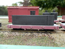 On18 14 foot Coffin Tank Car Kit 2 pack By Railway Recollections (not On30)
