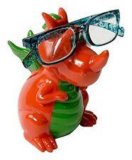 Ceramic Dragon Glasses Holder & Money Box Piggy Bank Savings Jar Specs Stand