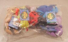 Disney Store Plush Bean Bag bugs life  Francis Dot Flea Dim Heimlich  lot 2