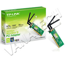 SCHEDA DI RETE INTERNA WIRELESS TP-LINK PCI TL-WN851ND 300MBPS DOPPIA ANTENNA