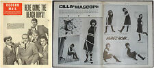 RECORD MAIL NEWSPAPER 1964 10 OCTOBER the beach boys/cilla black double page