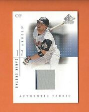 2001 SP GAME USED EDITION DARIN ERSTAD GAME-USED JERSEY #DE ANAHEIM ANGELS