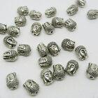 16pc Antiqued Tibetan silver Buddha Head Loose beads 10.5MM x 8MM