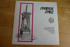 Springe spielt, Spielmanns-, Hörner- und Fanfarenzüge, 1971, Live, Vinyl LP, rar
