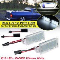 LED SMD Rear License Plate Light Lamp For Ford Falcon FG BA BF XR6 XR8 2003~2008