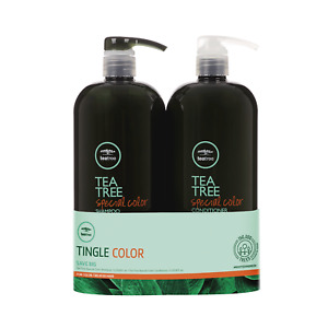 Paul Mitchell TeaTree Special Color Shampoo, Con. OR Duo 1L (Choose One)