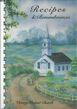 *RUFFIN NC 2004 VICTORY BAPTIST CHURCH RECIPES COOK BOOK *RECIPES & REMEMBRANCES