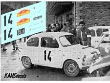 DECAL/CALCA 1/43: Fiat Abarth 1000TC - Rally Barcelona-Andorra 1965 (J. JUNCOSA)