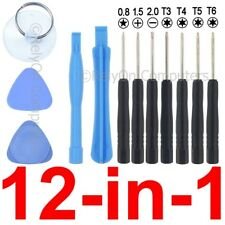 12-in-1 Universal Tool Kit Set Torx T3 T4 T5 T6 Cellphone Tablet iPhone Repair