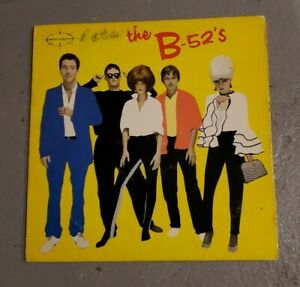 The B-52's Debut LP Original Classic Rock 1979 New Wave Punk Warner Bros. Record