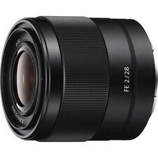 Sony SEL28F20 - FE 28mm F2 E-mount Full Frame Prime Lens