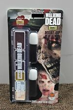 THE WALKING DEAD ZOMBIE MAKEUP KIT AMC Wolfe FX Undead Halloween Costume NEW