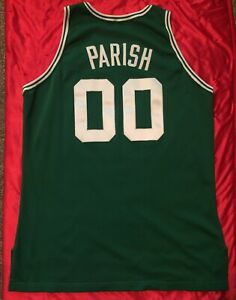 Robert Parish 1991-92 Game Worn Boston Celtics Jersey Dave Miedema LOA HOF