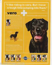 PEDIGREE 2009 magazine ad print dog food riding in cars not jumping into them
