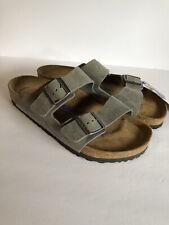 Birkenstock Arizona Soft Footbed Sandals  Iron Color Size 42