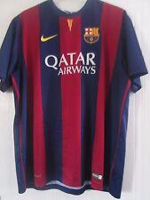 Barcelona 2014-2015 BASIC Home Football Shirt Size XxL /40807