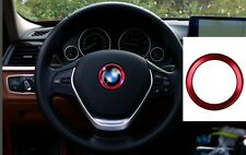 AUTO DECORATION ACCESSORIES Metal Car Steering Wheel Center Logo Ring For BMW