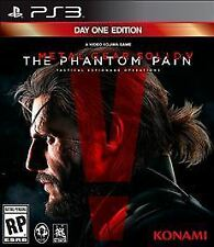 Playstation 3 Metal Gear Solid V The Phantom Pain Day One Edition New