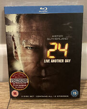 24 Live Another Day (2014) Complete Series UK Blu-ray Kiefer Sutherland