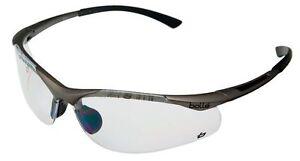 Bolle Contour CONTPSI Safety Glasses Clear Lens+Microfibre Pouch Custodia 2,5,10