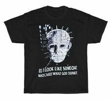 Hellraiser T-shirt Vintage Rare Horror Movie Shirt Black Unisex Cotton Vintage