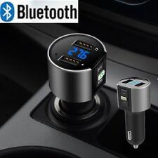 1X Bluetooth Wireless Car Kit FM Transmitter Dual USB MP3 Music Player Charger