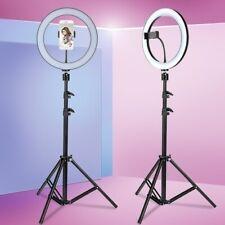 """10"""" LED Ring Light Dimmable Lighting Kit 160CM Selfie Tripod Makeup Youtube"""