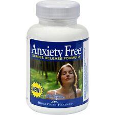 Ridgecrest Herbals Anxiety Free Stress Release Formula 60 Vegetarian Capsules