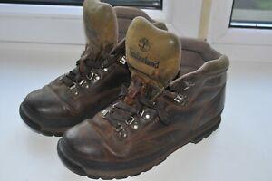 Timberland Hiking Boots Boots Vintage Men's Size UK9/US9.5M/43.5 Dark Brown