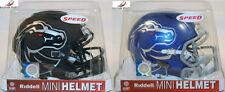 BOISE STATE BRONCOS - 2 Riddell Speed Mini Helmet Lot