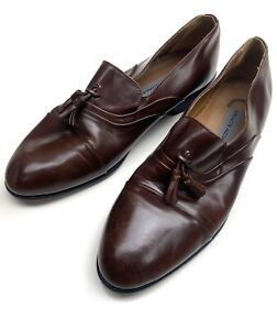 Stacy Adams Brown Mens Dress Shoes Size 11 With Heel 23444 02