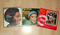 3 LPs  Schlager Connie Francis Peggy March Corry Brokken Vinyl Musik music