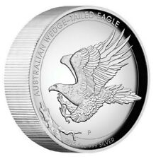 Australian Wedge-tailed Eagle 2015 5oz Silver Proof High Relief Coin Minted2,500