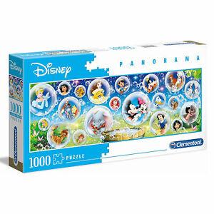 Clementoni: Panorama Disney Classic 1000 Piece Puzzle BRAND NEW