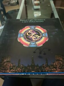 Electric Light Orchestra  A New World Record UAG 30017 Vinyl LP Embossed (1976)