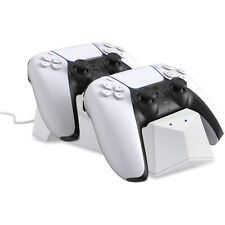 Sony Playstation 5 Dual Controller Charging Station Dock PS5 DualSense Charger