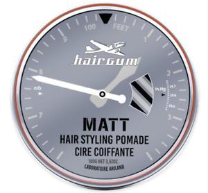 Hairgum Medium Hold, Matte Finish Hair Styling Pomade For Men - Multiple Sizes