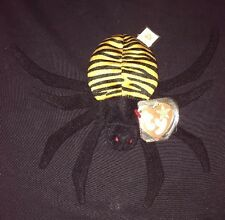 Ty Beanie Babies Spinner Spider 1997 Retired No Stamp