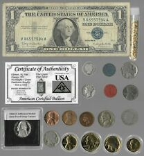Silver Dollar Barber Mercury Liberty Indian Rare Old US Coin Collection Lot Gold