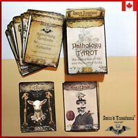 pathology tarot cards card deck rare vintage minor arcana oracle book guide