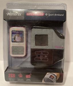 Memorex MMP8590 Pink ( 2 GB ) Digital Media Player Brand New in Box