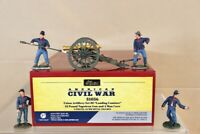 BRITAINS 31056 AMERICAN CIVIL WAR UNION ARTILLERY SET 2 LOADING CANISTER nv