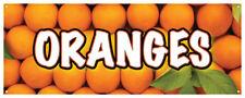 Oranges Banner Fresh Citrus Farmers Market You Pick 36x96